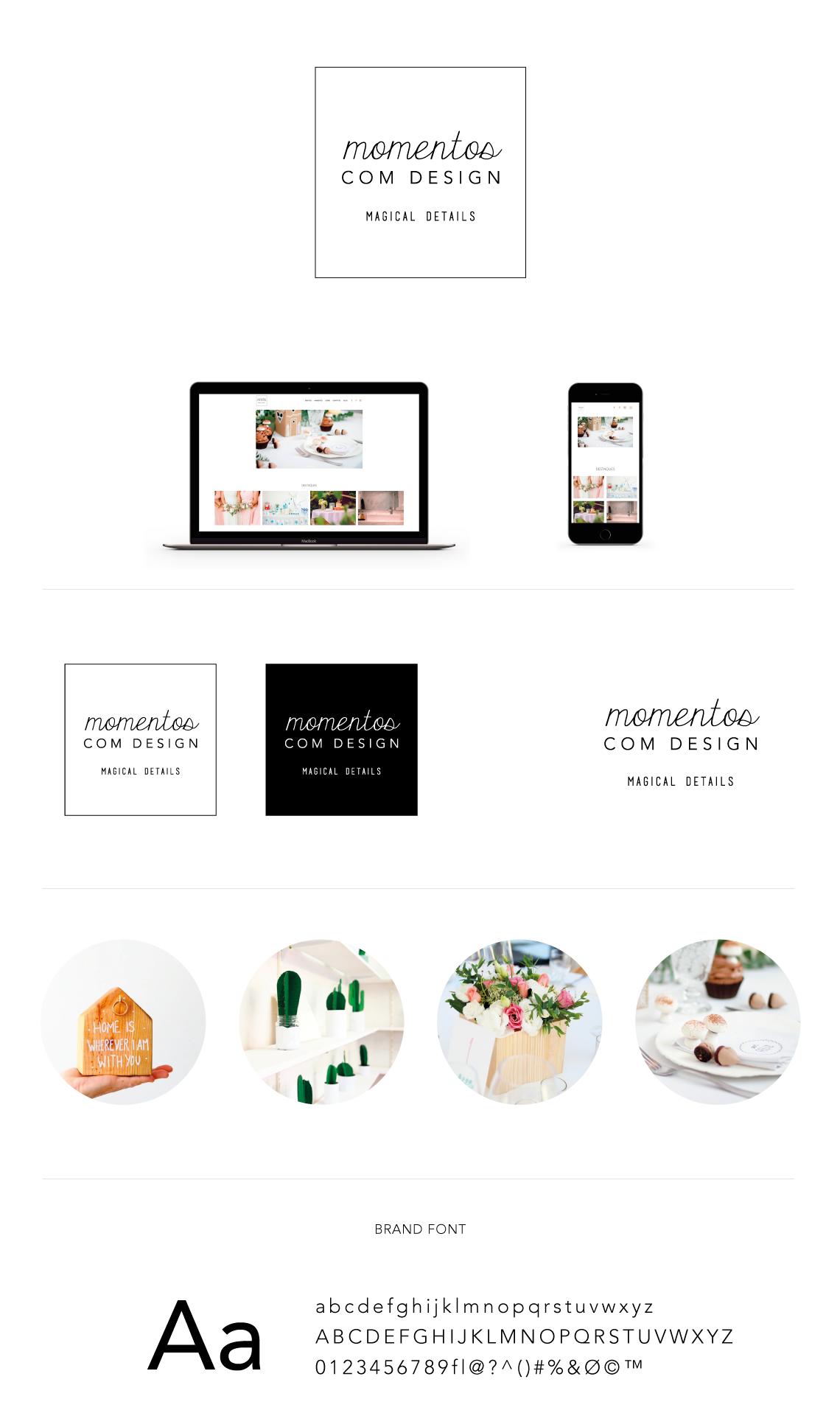 Branding-board-momentos-design