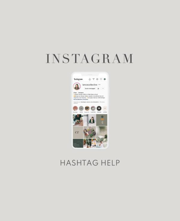 Hashtag Help para instagram