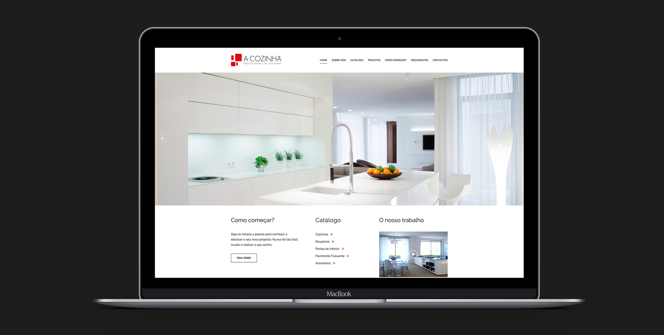 A Cozinha site