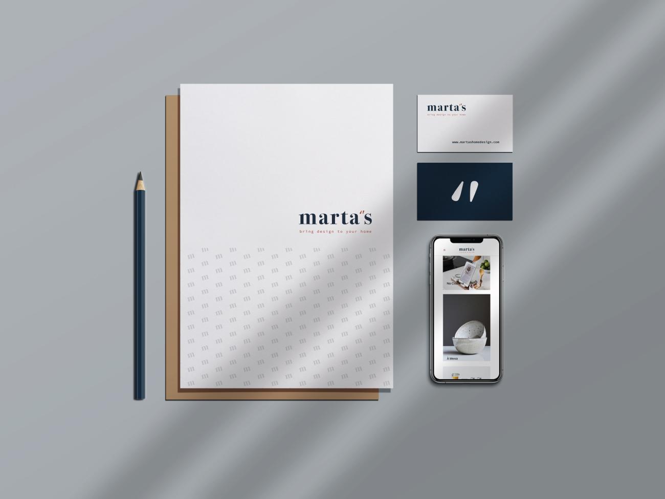 Marta's branding